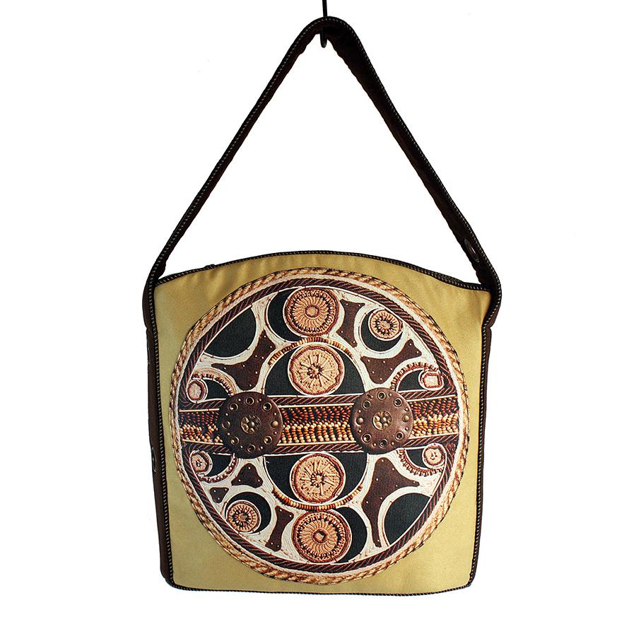 Ekologiczna, jasna damska torba XL