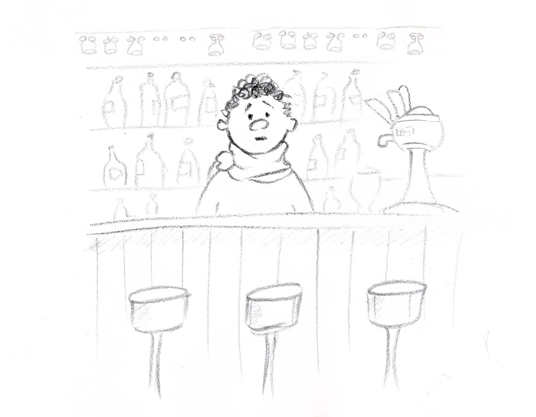 Misiek w barze
