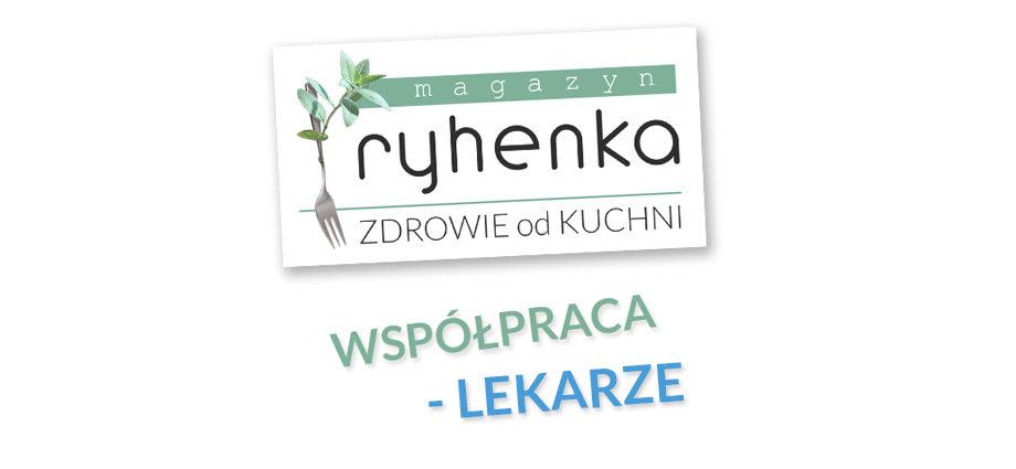ryhenka.com ZDROWIE od KUCHNI - współpraca z lekarzami i dietetykami